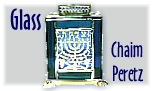 Chaim Peretz, Vitrage -- stained glass and silver pieces for all occasions in the Jewish Calendar
