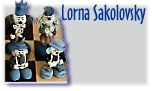 Lorna Sakolovsky -- equisitively designed and individually produced chess sets